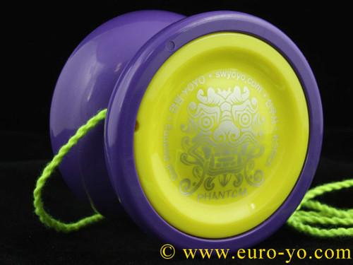 Shinwoo Phantom yo-yo Purple and Yellow