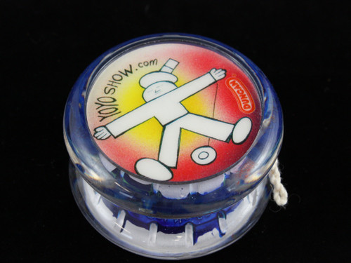 John Higby Hand Painted ProFly Yo-Yo with custom printed pogs DESIGN #6