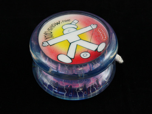 John Higby Hand Painted ProFly Yo-Yo with custom printed pogs DESIGN #32