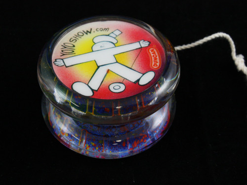 John Higby Hand Painted ProFly Yo-Yo with custom printed pogs DESIGN #35