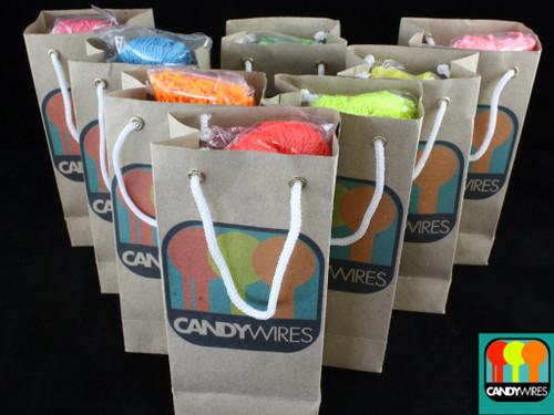Candy Wires Yo-Yo Strings 100 Type E Bubble Gum Blue