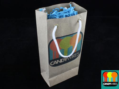 Candy Wires Yo-Yo Strings 100 Type FAT Bubble Gum Blue