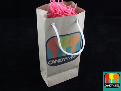 Candy Wires Yo-Yo Strings 100 Type FAT Bubble Gum Pink