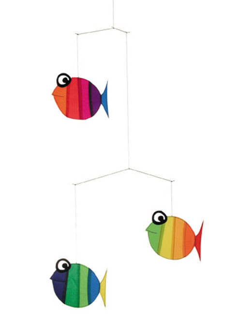Windspiration Little Looky Hanging Fish Mobile