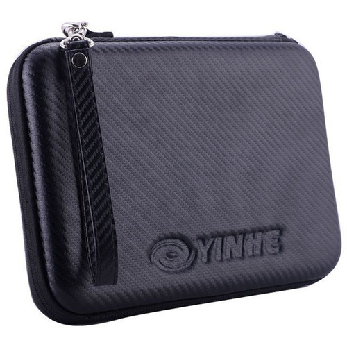 Yinhe Table Tennis racket high quality Hard Shell Case in Black - protect your ping pong bat.