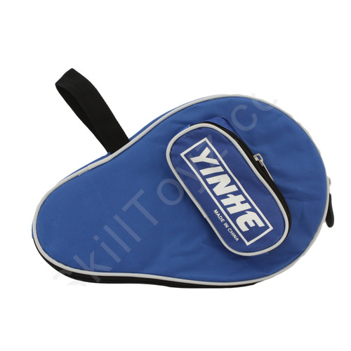 Yinhe Table Tennis Padded Soft Zipped Bat Case - Blue