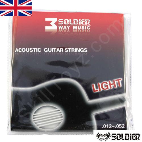 Soldier Light Gauge Acoustic Guitar String Set