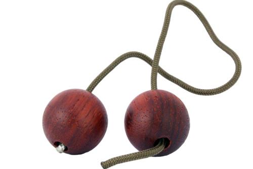 Begleri Padauk Wood Beads with Brown 275 Paracord