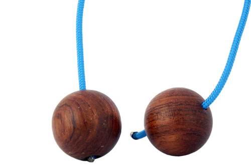 Begleri Cherry Wood Beads with Blue 275 Paracord