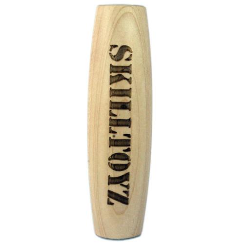 Maple wood table skittle balance skill toy exclusive to SkillToyz