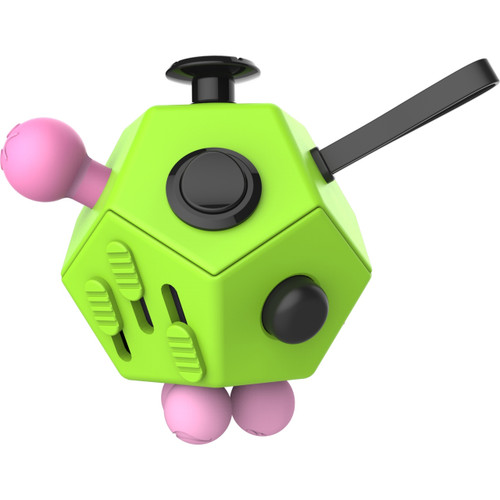 Fidget Cube 12 Sided Desk Toy Green for sale at skilltoyz.com