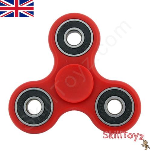 Red SkillToyz R188 finger spinner ready to play!