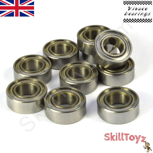Price is for ONE R188 hybrid cermic flat bearing. Suitable for many finger spinners and yoyos.