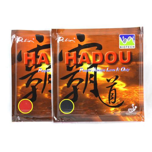 2 x Palio Hadou Biotech Table Tennis Bat Rubbers 40-42