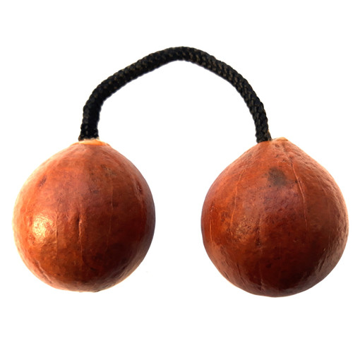 African Gourd Kashaka (aka Asalato, Cas Cas, Patica, Kosika,  Kes Kes) for sale. Made in Ghana. African kashaka percussion musical instruments for sale in the UK