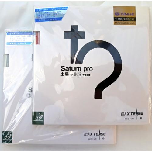 Yinhe (Galaxy/Milkyway) Medium Saturn Pro Table Tennis Bat Rubbers.   Buy single rubbers or a pair.
