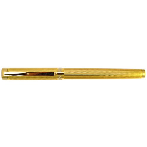 Jinhao FP-155 Fountain Pen Gold edition F nib. Supplied with a free pack of 5 Jinhao ink cartridges!