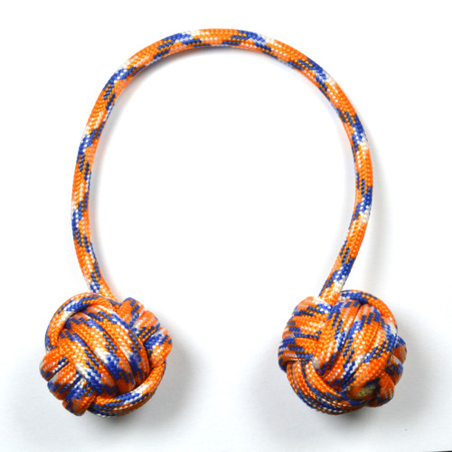 Monkey Fist Begleri 6 Inch Blue-orange Edition