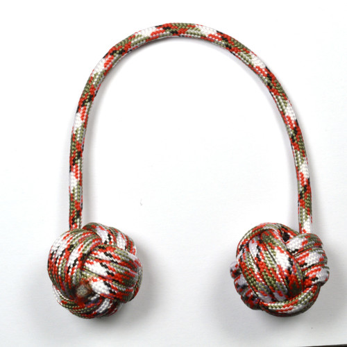 Monkey Fist Begleri 6 Inch Candy Cane Edition