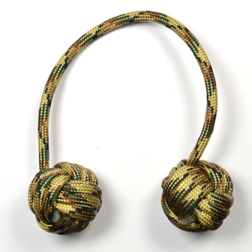 Monkey Fist Begleri 6 Inch Forest Camo Edition