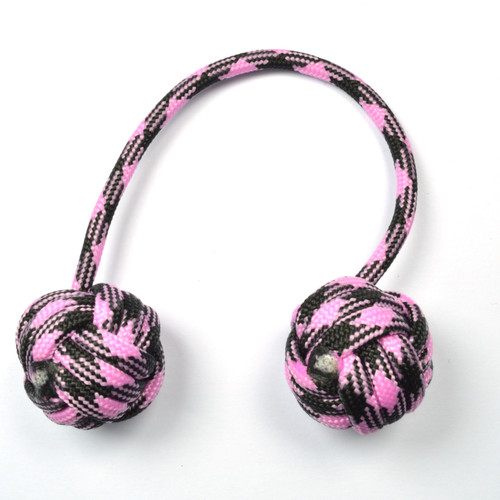 Monkey Fist Begleri 5 Inch Black-pink Edition