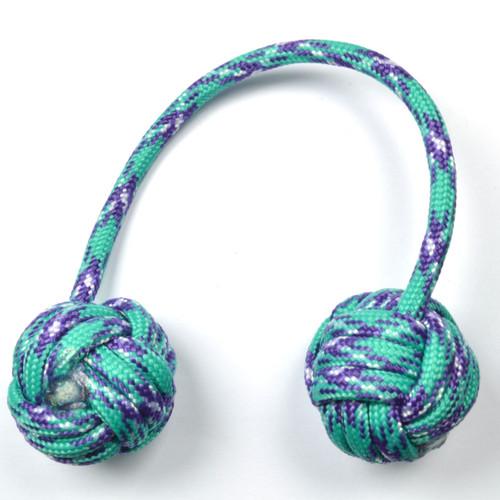 Monkey Fist Begleri 5 Inch Turquoise-Purple Edition