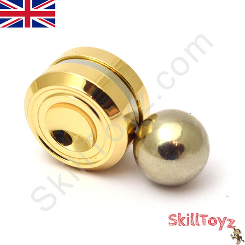 Magnetic Orbiter Fidget Toy Gold-Silver