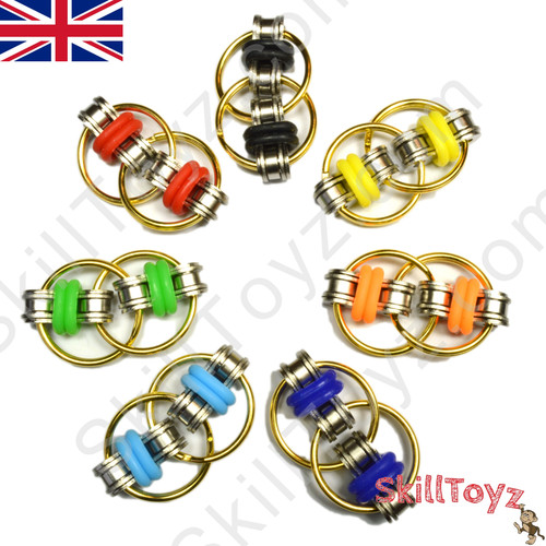 Fidget Bike Chain Ring 25mm GOLD