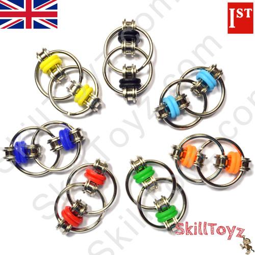 Fidget Bike Chain Ring 30mm Silver