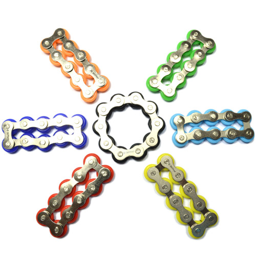 Fidget Bike Chain Finger Roller 10 Links
