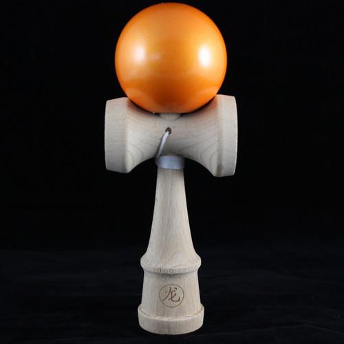 Dragon Kendama 'Orange Zest' (metallic/pearlescent paint)