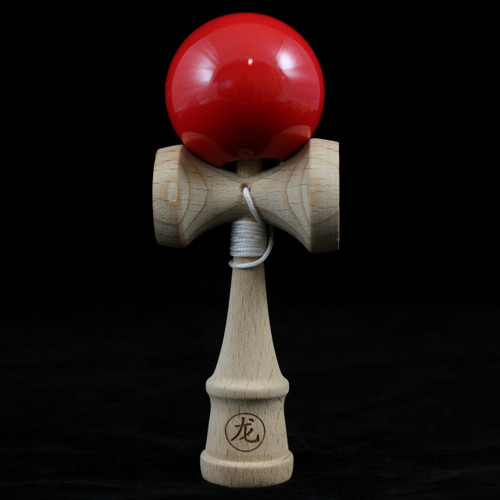 Dragon Baby Kendama Red - made from beech wood