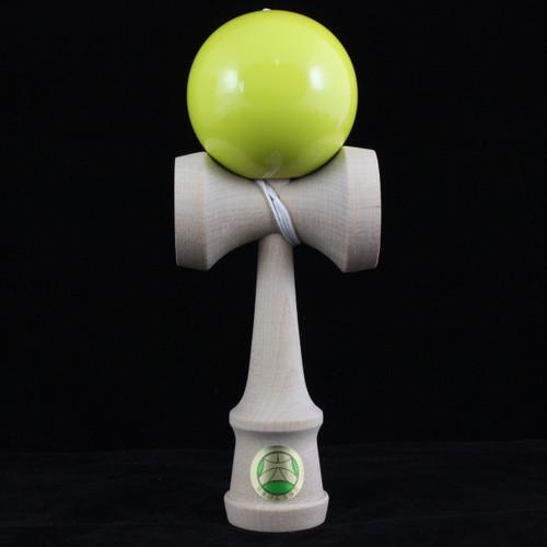 TK16 Master Kendama Yellow Japanese wooden kendama skill toy