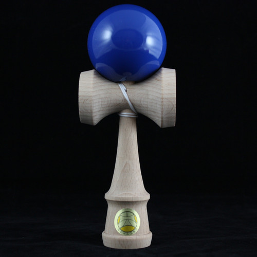 Ozora Solid Colour Japanese Wooden Kendama - Dark Blue