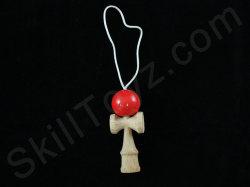 The tiny Dragon Kendama Novelty Key Ring / key Chain Red.