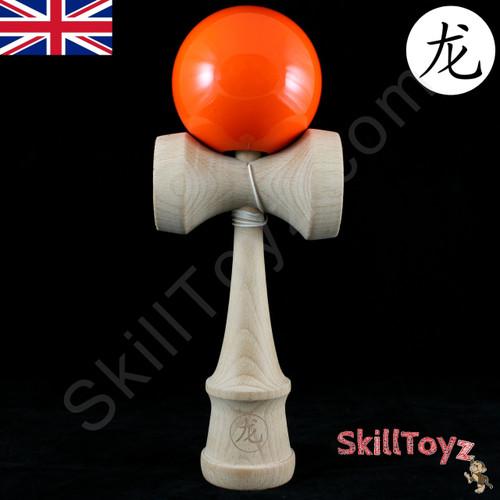 Dragon King Jumbo wooden Kendama Orange Crush