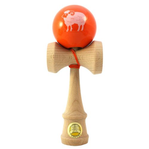 Ozora Year of the Sheep Zodiac wooden Japanese Kendama 2015