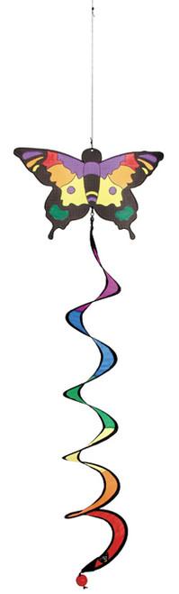 Windspiration Butterfly Twist Mobile Garden/Indoor Wind Toy