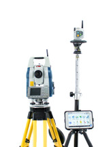 "Sokkia SRX3X 3"" Robotic Total Station w/ RC-PR5 & Panasonic Magnet Software"