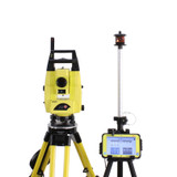 Leica iCR55 Robotic Total Station Kit w/ CC80 Tablet