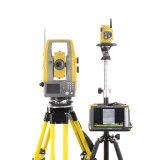 """MONTHLY RENTAL: Topcon PS-103A 3"""" Robotic Total Station w/ FC-6000 Tablet & Pocket-3D Software"""