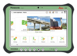 "Leica iCON CC35 10"" Panasonic Rugged Tablet Kit w/ iCON Build Plus Software"