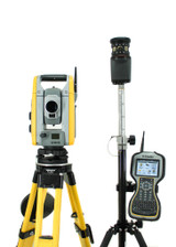 "MONTHLY RENTAL: Trimble S6 3"" Robotic Total Station w/ TSC3 Data Collector & Access Software"