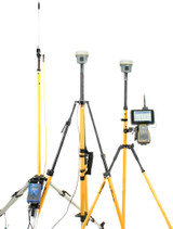 MONTHLY RENTAL: Trimble Dual R10 GPS/GNSS Receiver Kit w/ TSC7 Data Collector & Access Software