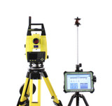Leica iCR62 Robotic Total Station Kit w/ CS35 Tablet & iCON Software
