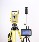 """MONTHLY RENTAL: Trimble S5 3"""" DR+ Robotic Total Station Kit w/ Yuma 2 Tablet & Access Software"""