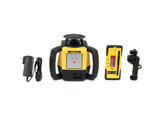 Leica Rugby 610 Rotary Laser Level Kit w/ Rod Eye 120 Receiver