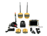 Topcon Dual Hiper HR GPS/GNSS 900 MHz Receiver Kit w/ FC-5000 Tablet & Pocket-3D Software