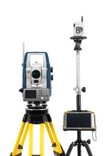 Sokkia SX-105T Robotic Total Station Kit w/ Topcon FC-5000 Tablet & Magnet Field Software