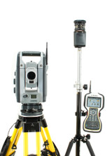 "Trimble S8 HP 1"" Robotic Total Station Kit w/ TSC3 Data Collector & Access Software"